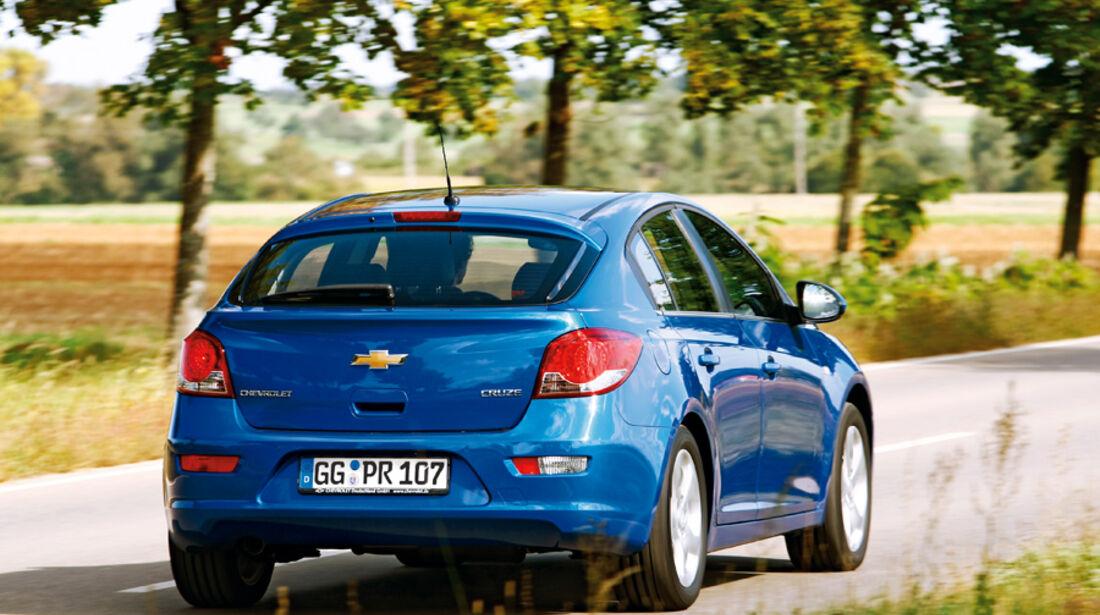 Chevrolet Cruze 2.0, Heck, Rückansicht