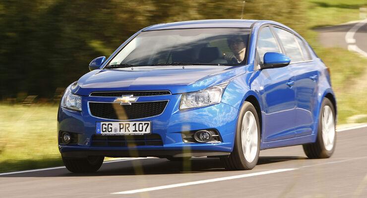 Chevrolet Cruze 2.0 LTZ, Frontansicht