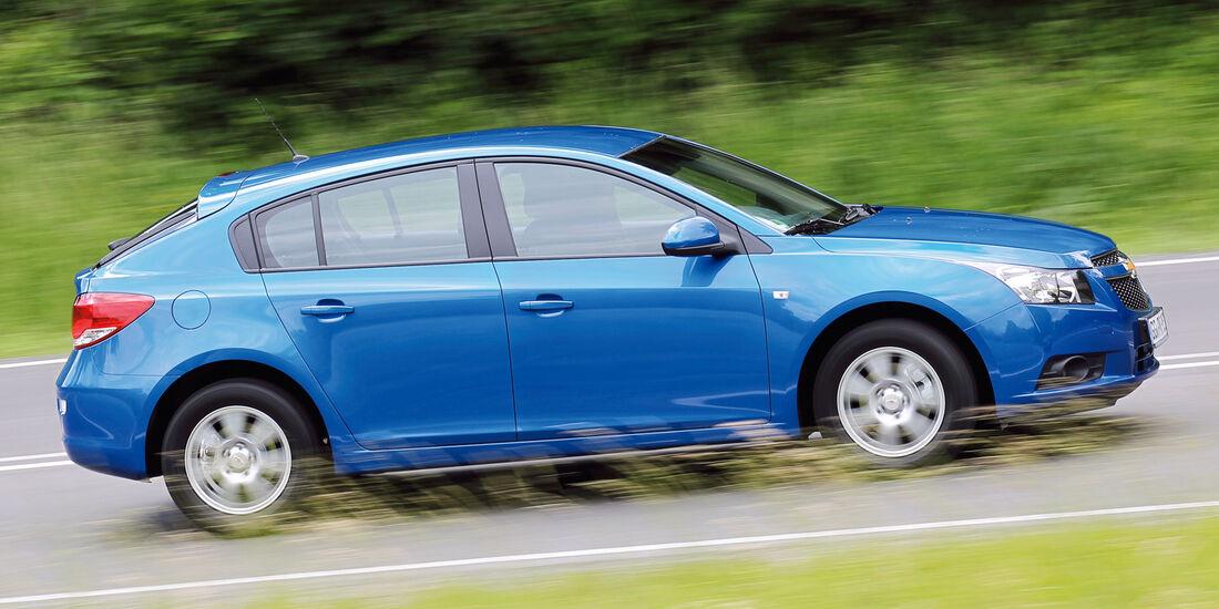 Chevrolet Cruze, Seitenansicht