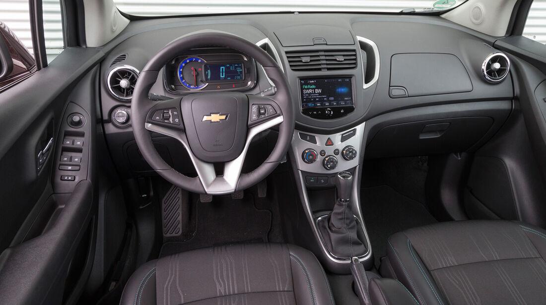 Chevrolet Trax 1.4 Turbo AWD, Cockpit, Lenkrad
