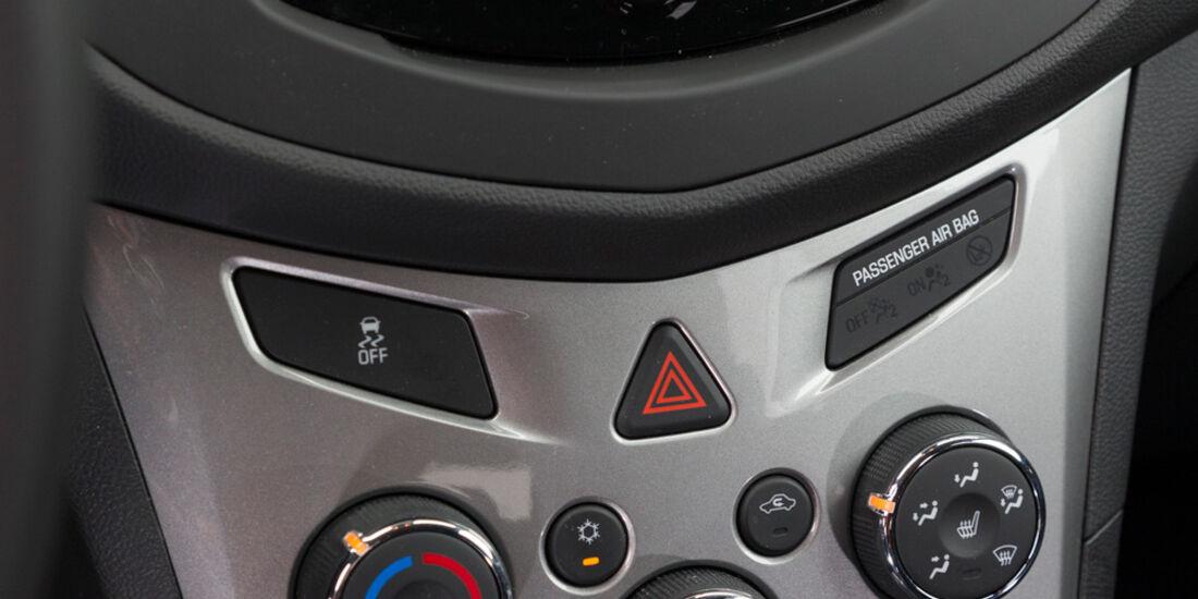 Chevrolet Trax 1.4 Turbo AWD, Mittelkonsole