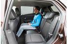 Chevrolet Trax 1.4 Turbo AWD, Rücksitz, Beinfreiheit