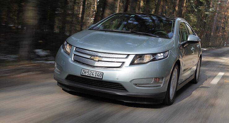 Chevrolet Volt Im Fahrbericht Wie Sparsam Ist Das E Auto Wirklich