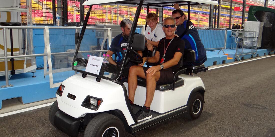 Christian Danner - Formel 1 - GP Singapur - 20. September 2012