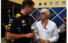 Christian Horner - Bernie Ecclestone - Formel 1 - GP Bahrain - Sakhir - Training - Freitag - 14.4.2017