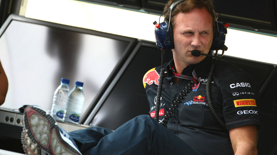 Christian Horner - GP Abu Dhabi - Qualifying - 12.11.2011