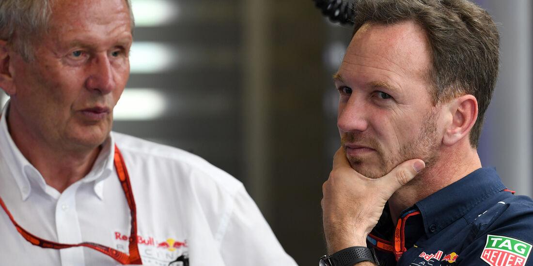 Christian Horner - Red Bull - Formel 1 - GP Aserbaidschan - Baku - 17. Juni 2016