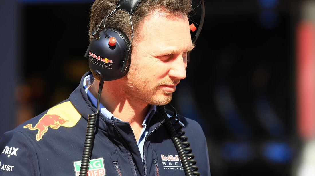 Christian Horner - Red Bull - Formel 1 - Test - Barcelona - 9. März 2017