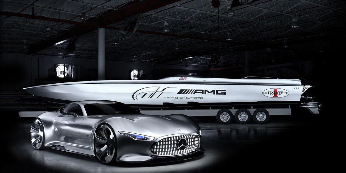 Cigarette Racing 50' Vision GT Concept Mercedes AMG