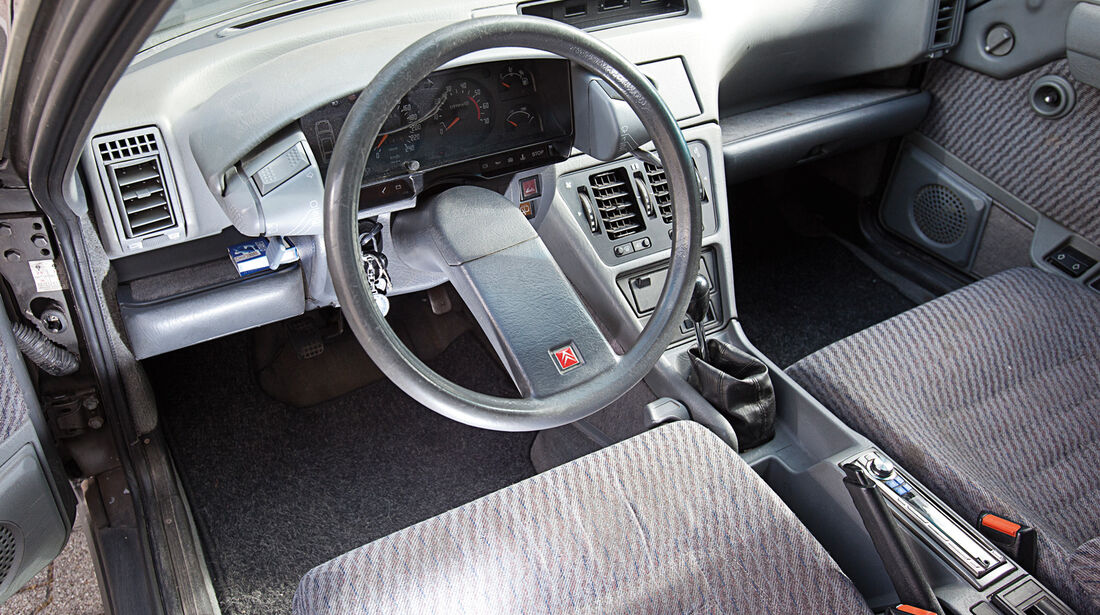 Citroën CX Break/Familiale, Cockpit, Lenkrad