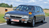Citroën CX Prestige, Frontansicht
