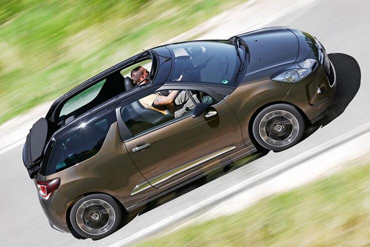 fahrbericht citro n ds3 thp 155 cabrio willkommene auffrischung auto motor und sport. Black Bedroom Furniture Sets. Home Design Ideas