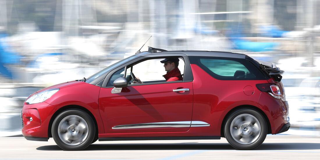Citroën DS3 THP 155 Cabrio SportChic, Seitenansicht