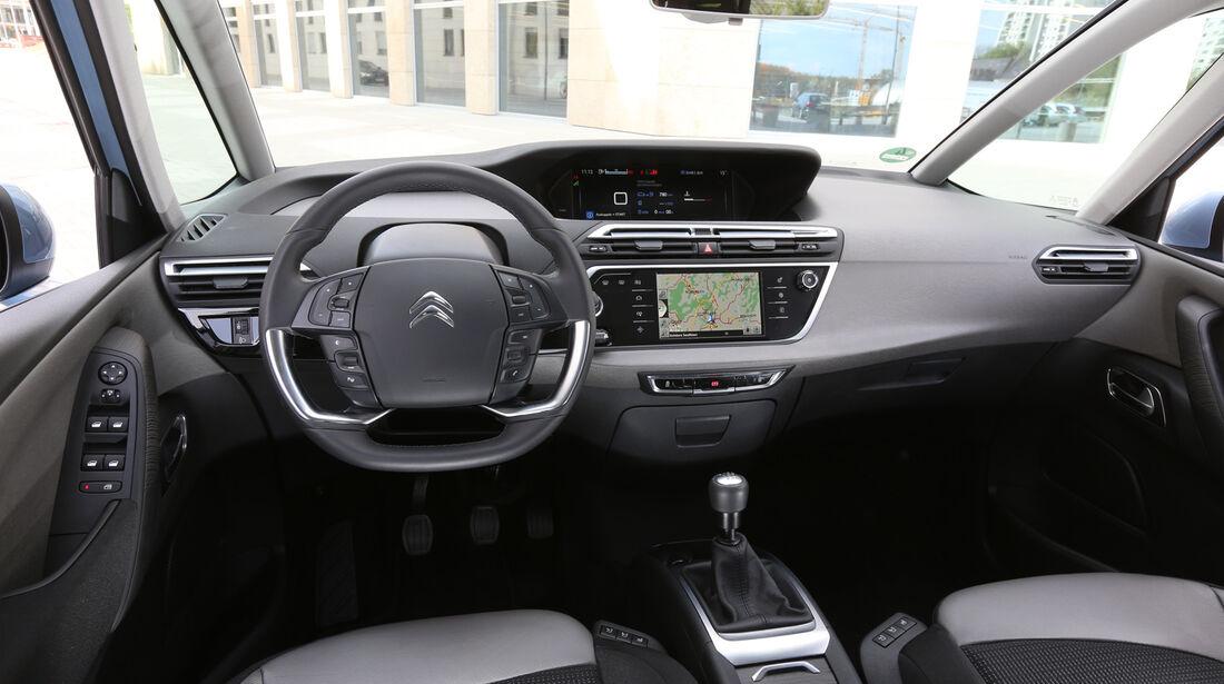 Citroën Grand C4 Picasso e-HDi 115, Cockpit