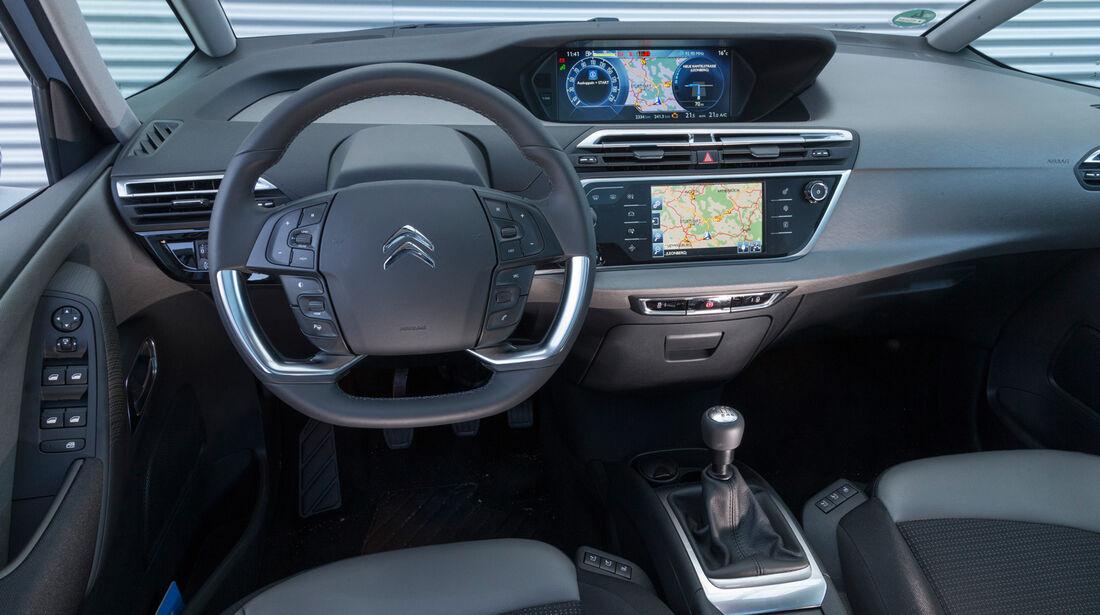 Citroën Grand C4 Picasso e-HDi 115 Intensive, Cockpit