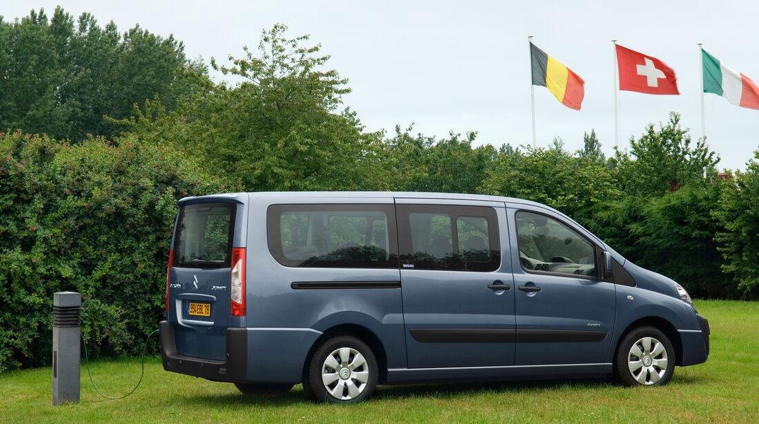 Citroën Jumpy 1.6 Hdi, Seitenansicht