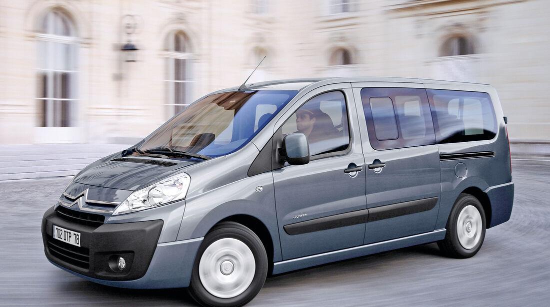 Citroën Jumpy, Seitenansicht