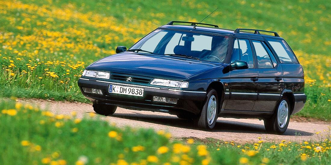 Citroën XM Break, Seitenansicht