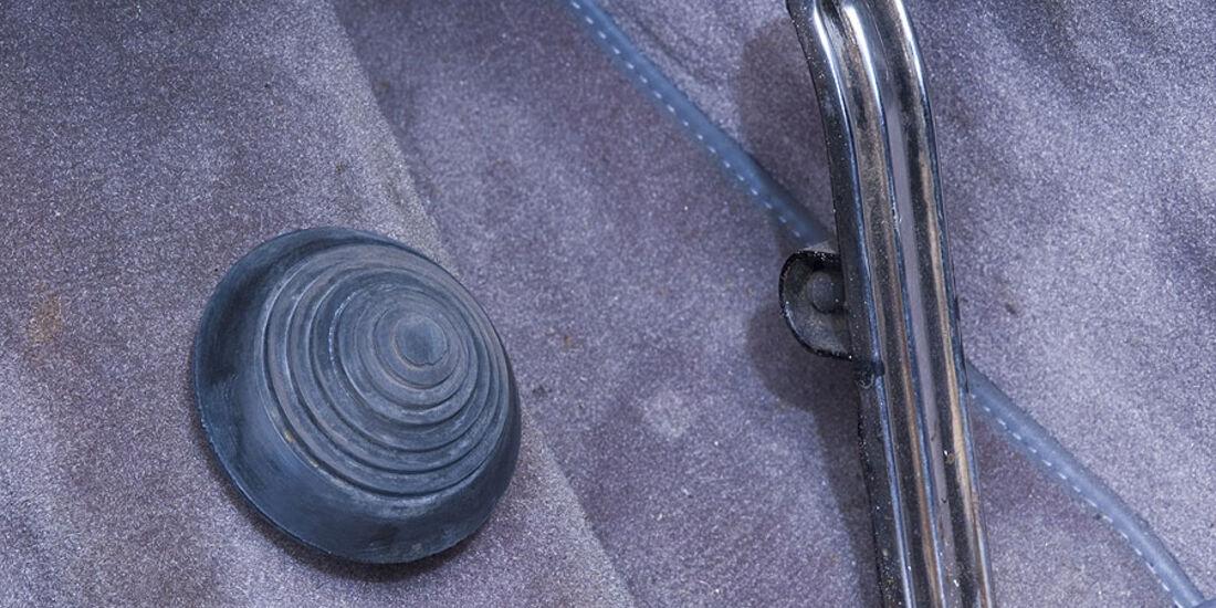 Citröen DS - Bremspedal