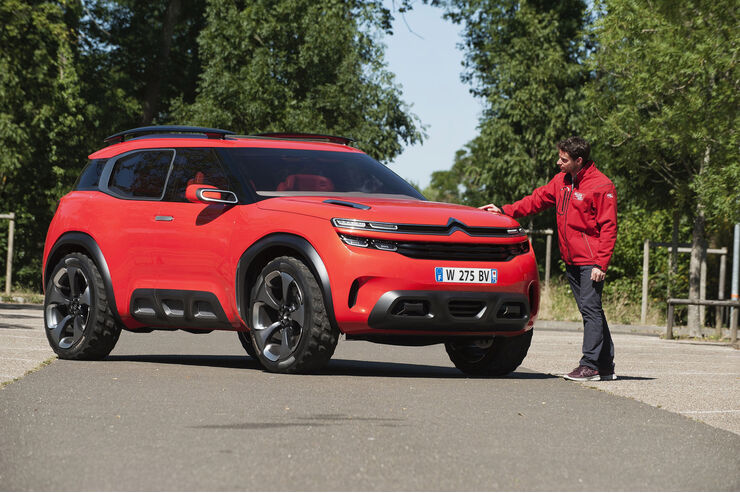 Citroen Aircross Concept, Totale