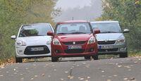 Citroen C3 Vti 95, Skoda Fabia 1.2 TSI, Suzuki Swift 1.2