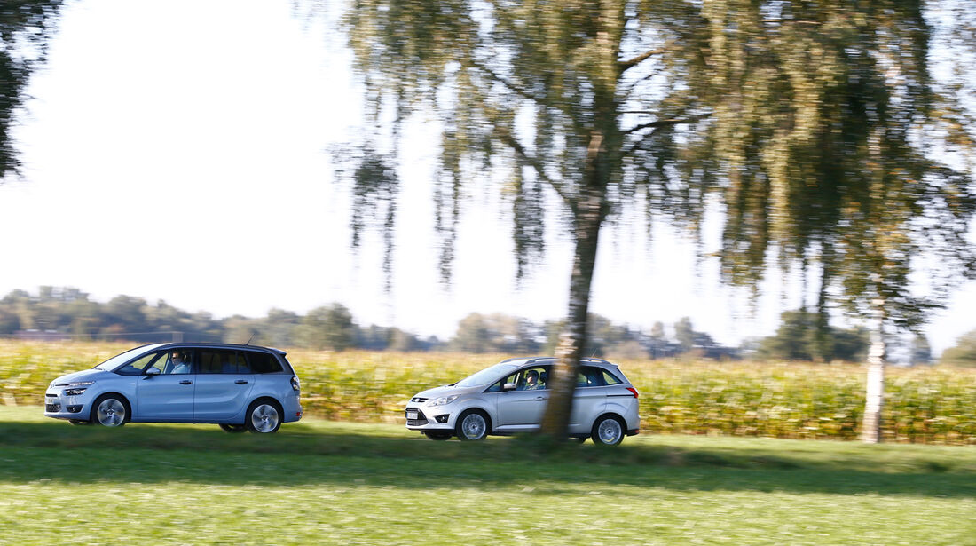 Citroen C4 Grand Picasso, Ford Grand C-Max