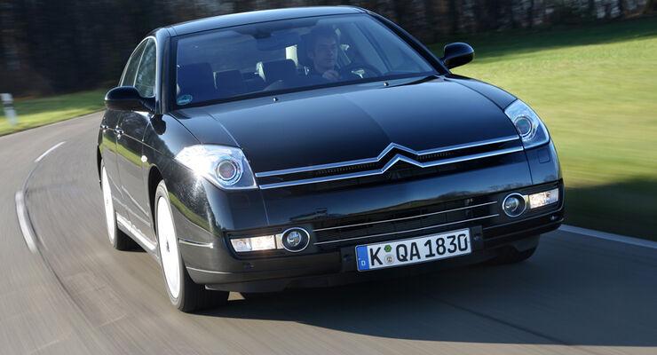 citro n c6 im test hdi 240 ist st rkste limousine mit v6 und biturbo auto motor und sport. Black Bedroom Furniture Sets. Home Design Ideas