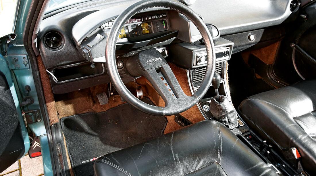 Citroen CX GTI, Cockpit