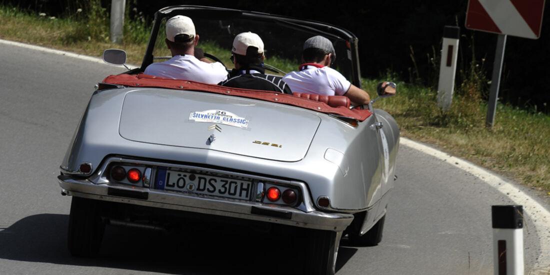 Citroen DS bei der Silvretta Classic 2010