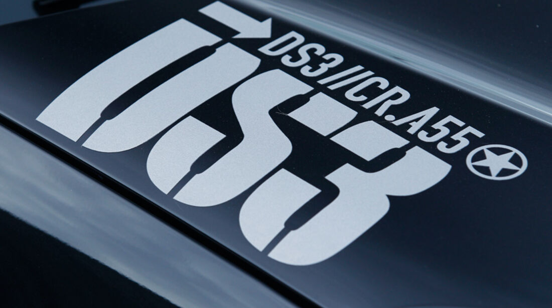 Citroen DS3 Racing, Detail