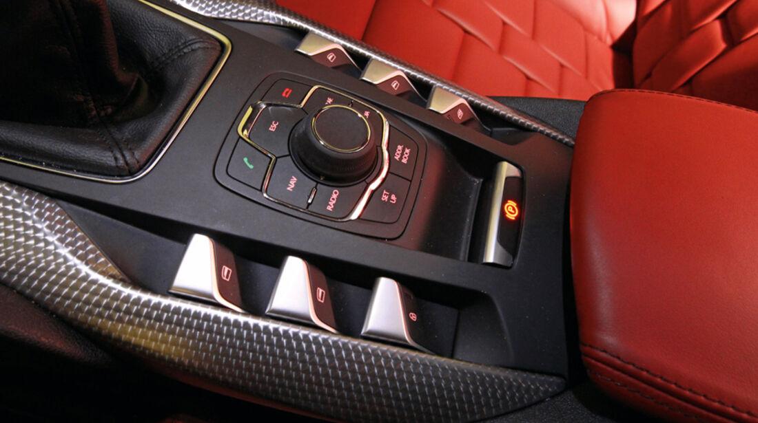 Citroen DS5 THP 200, Bedienelemente