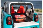 Citroen E-Mehari Kofferraum mit Gepäckstück