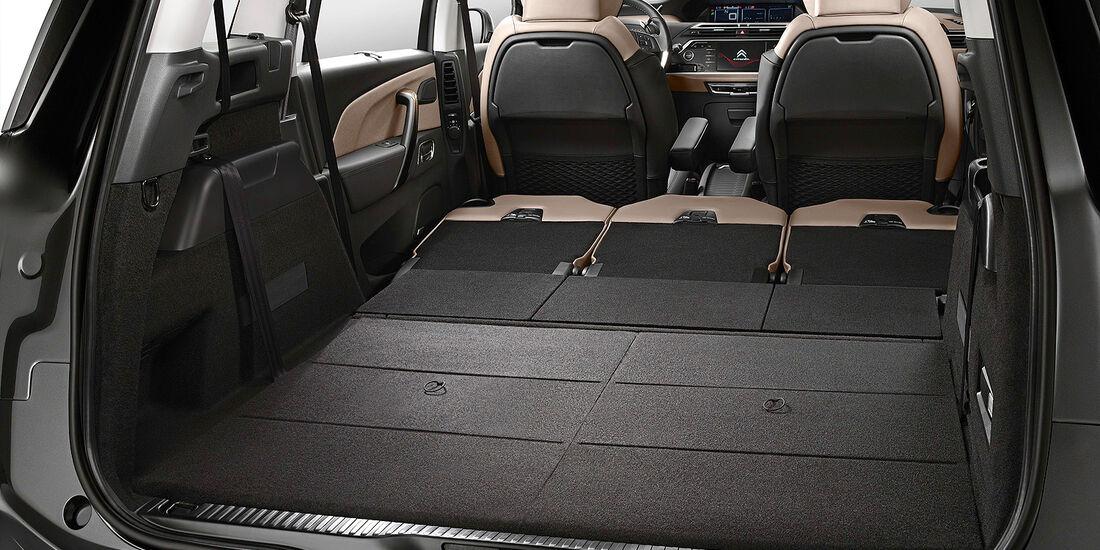 Citroen Grand C4 Picasso, Kofferraum