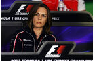 Claire Williams - Formel 1 - GP China -12. April 2013