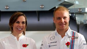Claire Williams & Valtteri Bottas - F1 - 2016