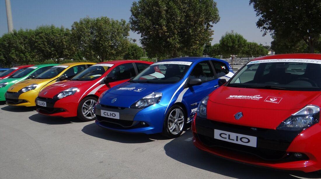 Clio  - Scheich Autos - GP Abu Dhabi 2012