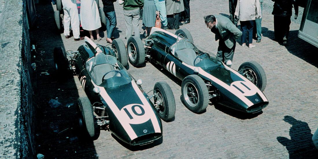 Cooper T55 - Jack Brabham - Bruce Mclaren - GP Niederlande 1961 - Zandvoort