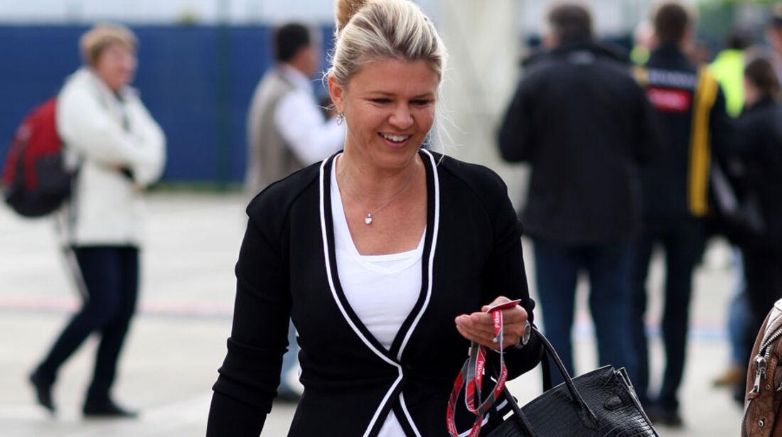 Corinna Schumacher - GP England - Qualifying - 9. Juli 2011