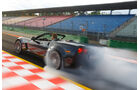 Corvette C6, Hockenheim, Burnout