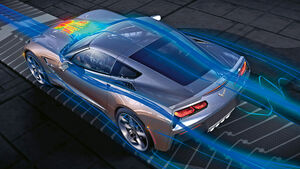 Corvette C7, Strömung