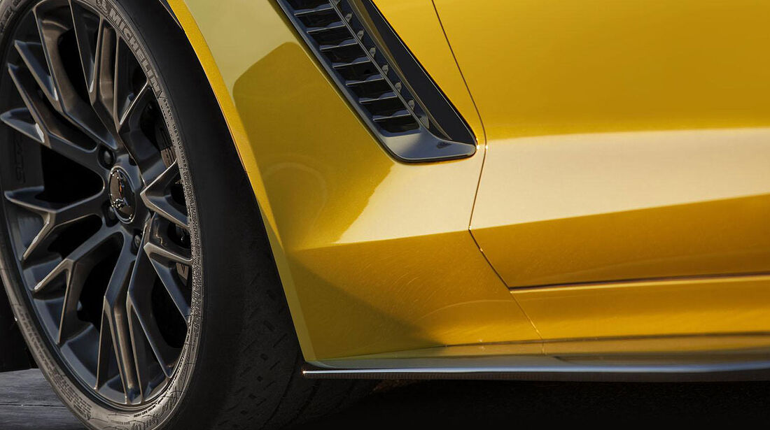 Corvette C7 Z06 Teaser