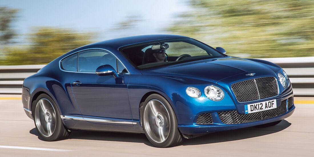 Coupés über 150 000 €, Bentley Continental GT W12T
