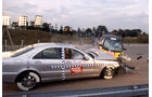 Crashtest Mercedes S-Klasse vs. Smart