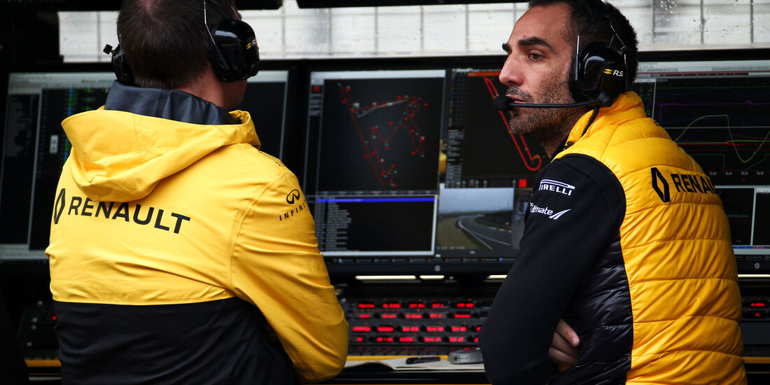 Cyril Abiteboul - Renault - Formel 1 - GP China - Shanghai - Freitag - 7.4.2017