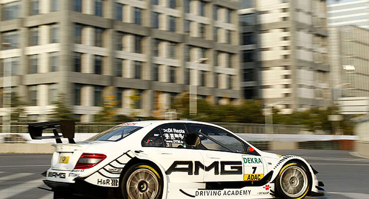 DTM 2010 Shanghai Mercedes Paul di Resta