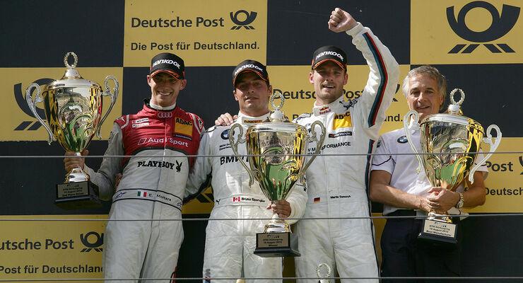 DTM 2012 Nürburgring, Rennen, Bruno Spengler, Edoardo Mortara, Martin Tomczyk