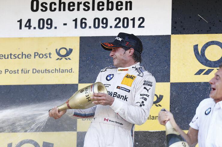 DTM 2012 Oschersleben, Siegerehrung, Bruno Spengler