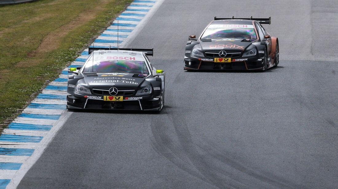 DTM 2015 - Testfahrten - Estoril - Mercedes-AMG C63 DTM