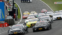 DTM Brands Hatch 2012, Rennen