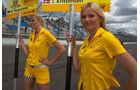 DTM Grid Girls Lausitzring
